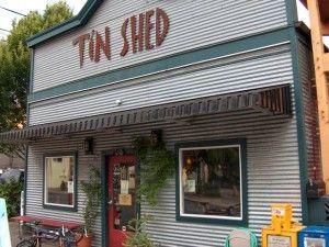 tin shed, portland