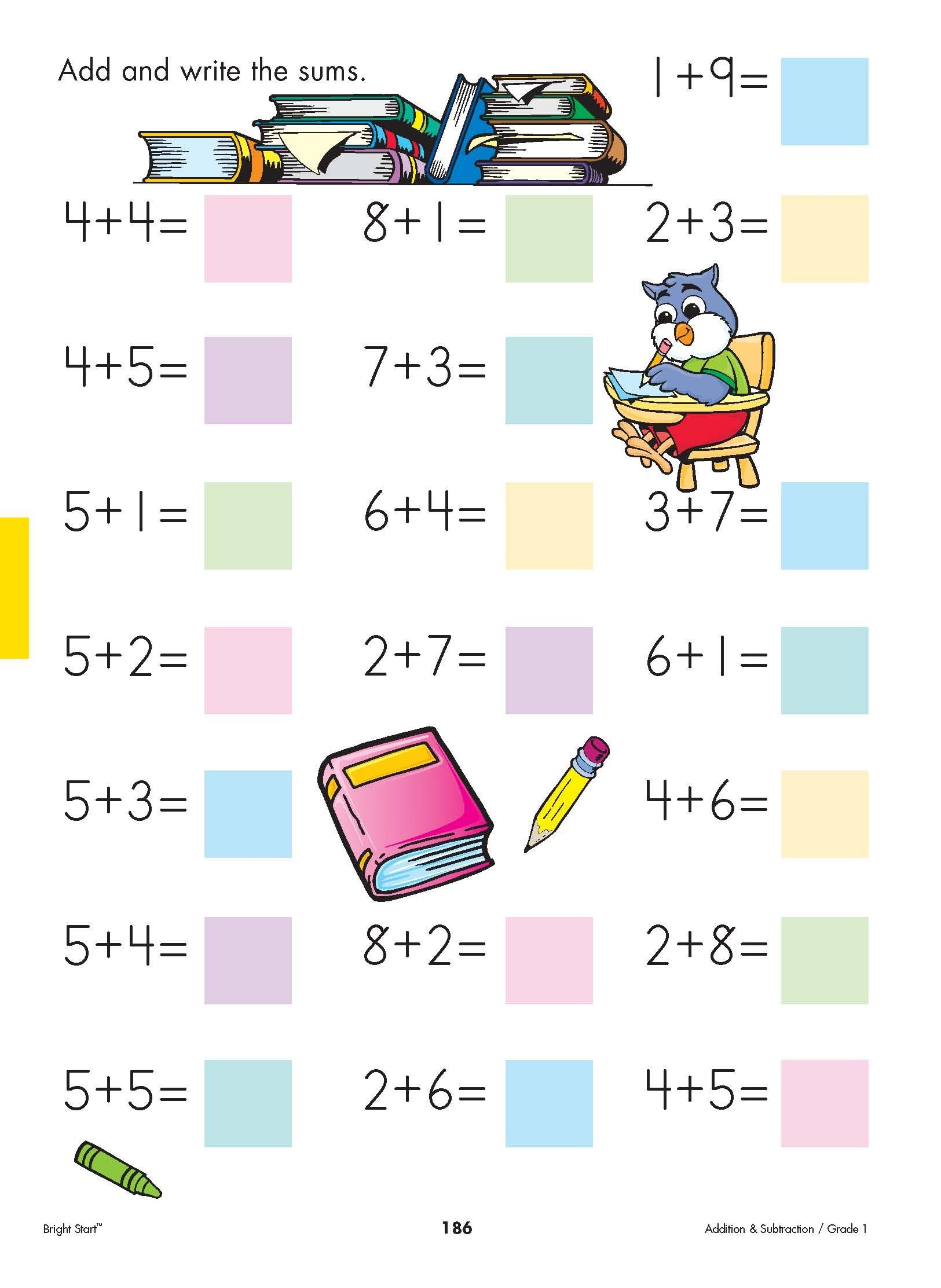 Your First Grader Will Have So Much Fun Doing Addition And