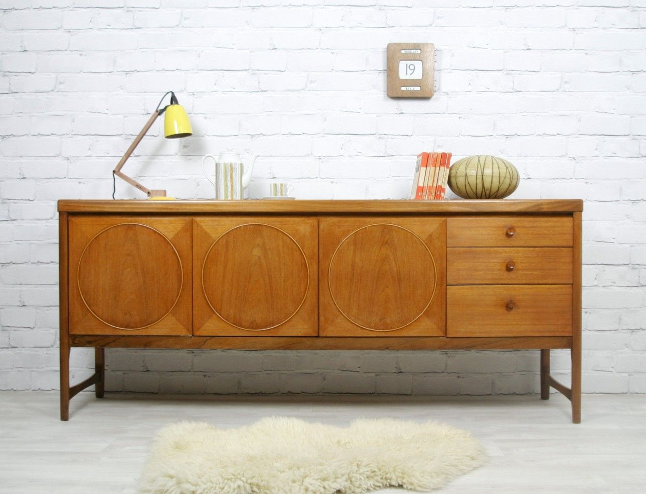 teak retro furniture. Vintage Teak Sideboard Manufactured By Nathan. Retro Furniture N
