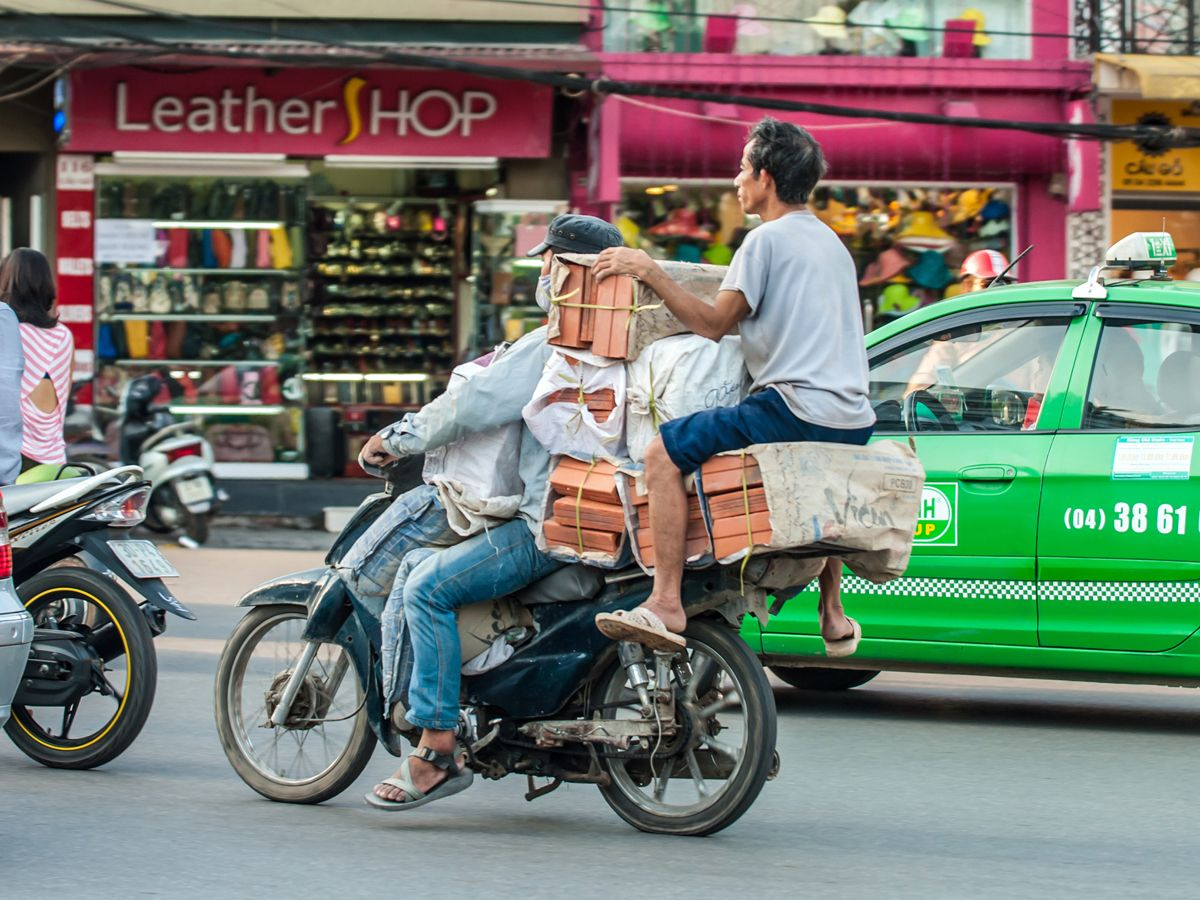 Everything Can Be Carried On The Bike In Vietnam Việt Nam Viết Hai Hước
