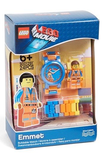 LEGO® 'The LEGO Movie - Emmet' Character Watch & Toy | Nordstrom ...
