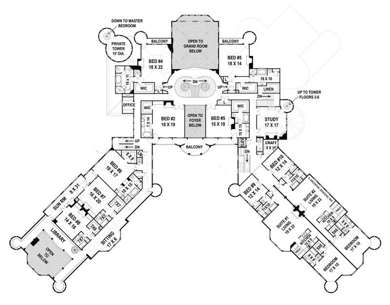 Balmoral House Plan Castle Plans Castle Floor Plan Balmoral House