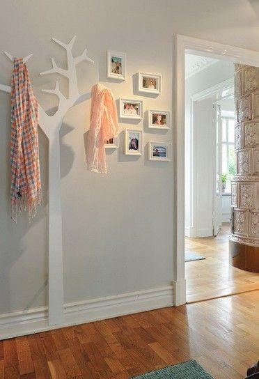 Arredamento per l\'ingresso di casa | appendi abiti | Pinterest ...