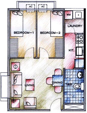 My Manila Condo Condo Bedroom 2 Bedroom Floor Plans Bedroom Floor Plans