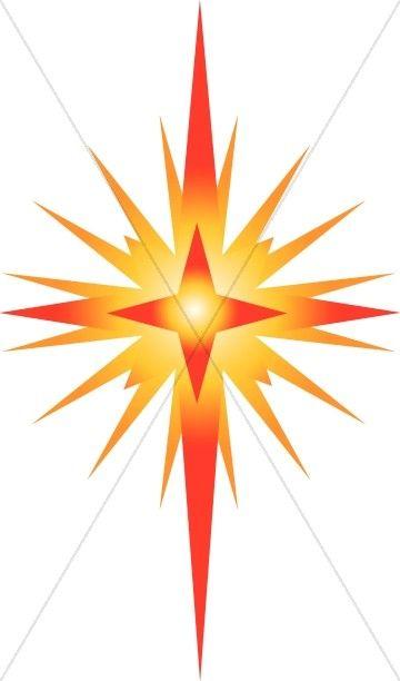 bright star of bethlehem clipart christian star clipart products rh pinterest com