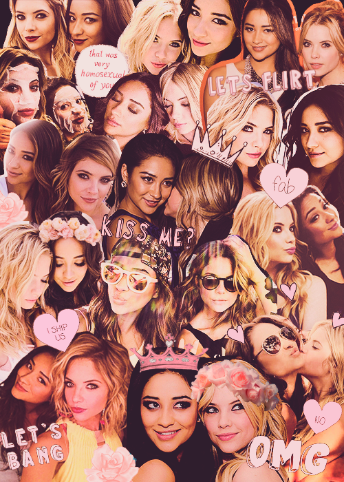Requested Ashley Benson Shay Mitchell Iphone Background Wallpaper Iphone Wallpaper