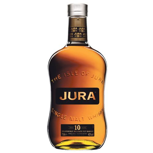 Jura Single Malt Whisky(10years)  Nearly 55euros (Average)