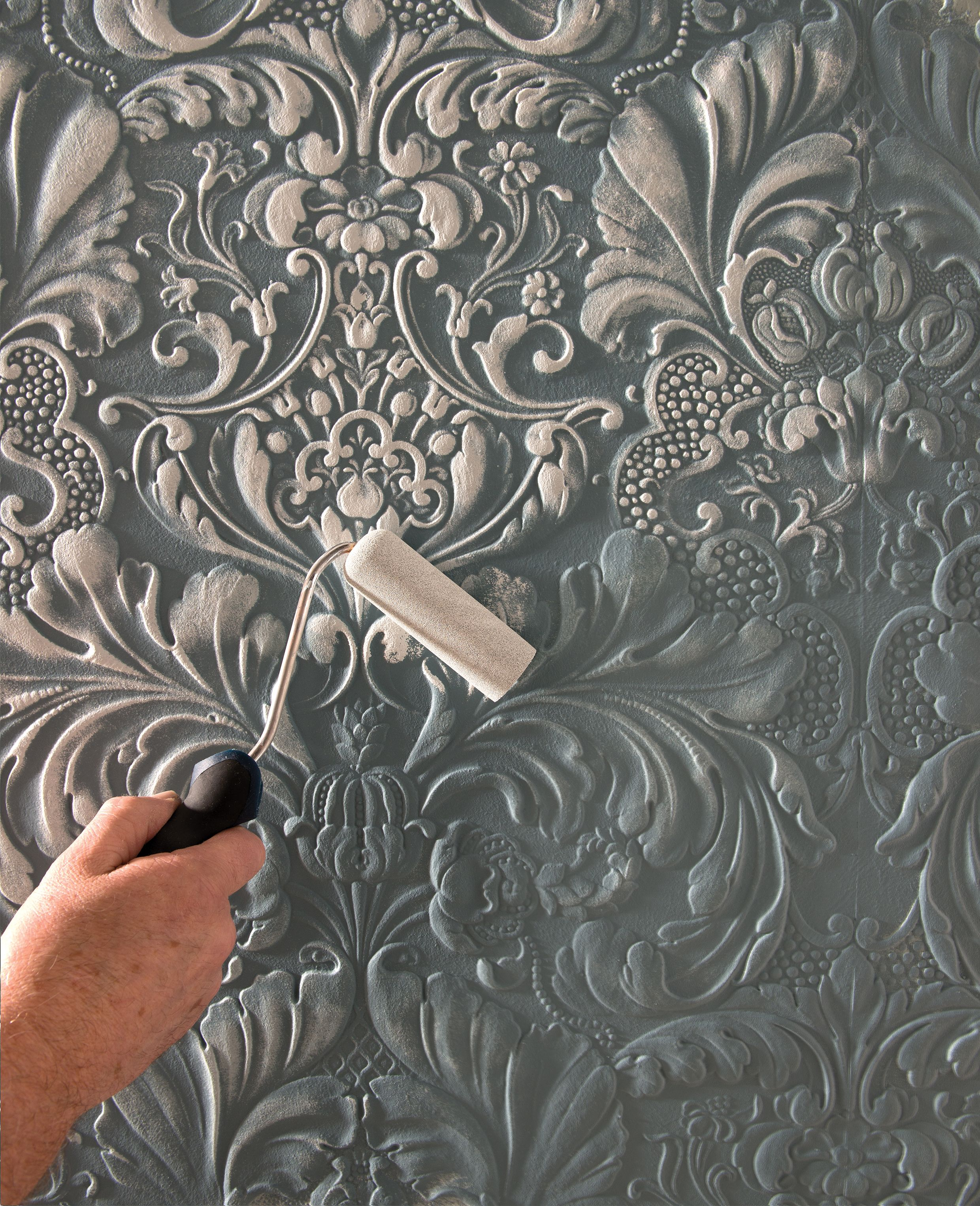 Paintable Wallpaper Creating Dimension 壁装飾 部屋の装飾 壁紙 インテリア