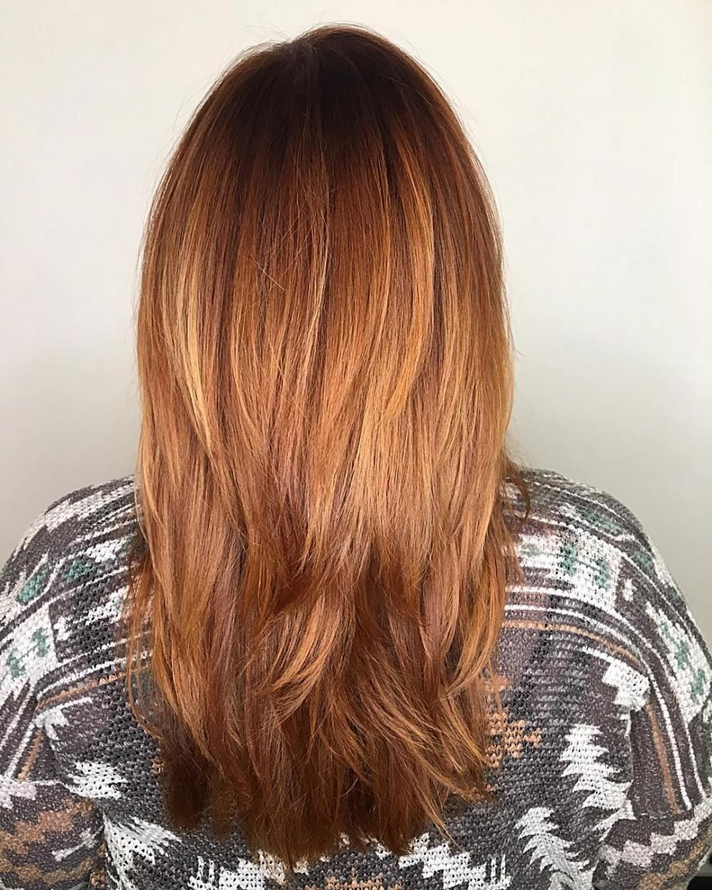 Auburn Hair Colors to Emphasize Your Individuality Straight red