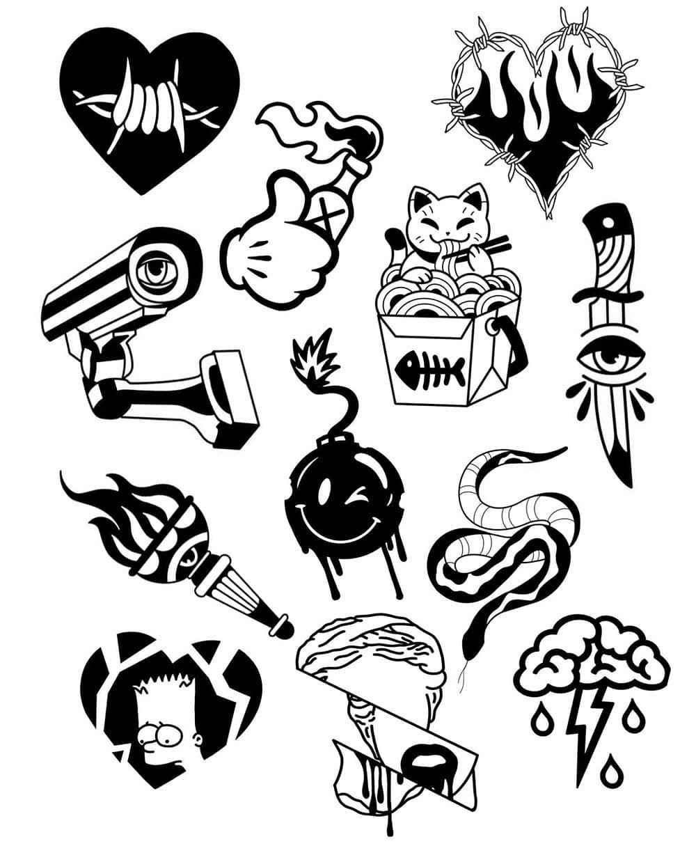 Salikh 999 Tatu Partak Tattogirl Tatushka Sketch Sketchbook Sketching Sketchtattoo T Tattoo Sketches Tattoo Flash Art Doodle Tattoo