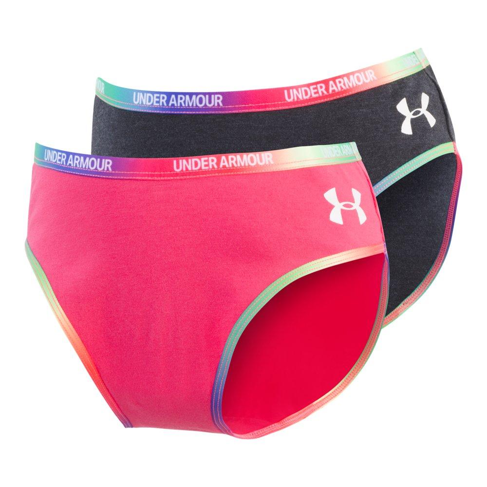 463bf5d945 Under Armour Girls' UA Twist Bikini 2-Pack Underwear   Products ...