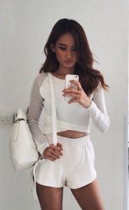 #street #style / all white all casual