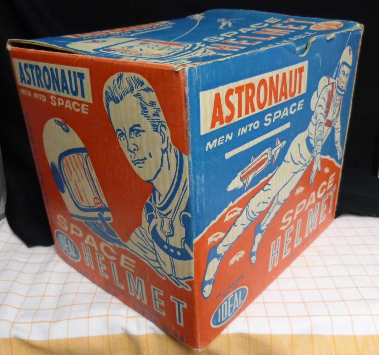 Ideal Astronaut Space Helmet Box Box Only eBay Ideal