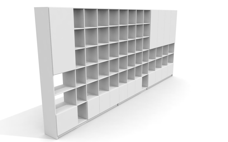Individuell Gestaltetes Bucherregal Bibliothek Nach Mass Von Pickawood 3d Modell Fur Eine Kundin Aus Hamburg Mit Bildern Regal Bucherregal Mobel Furniture