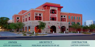 chandler fire station arizona | Chandler Fire Administration Building LEED
