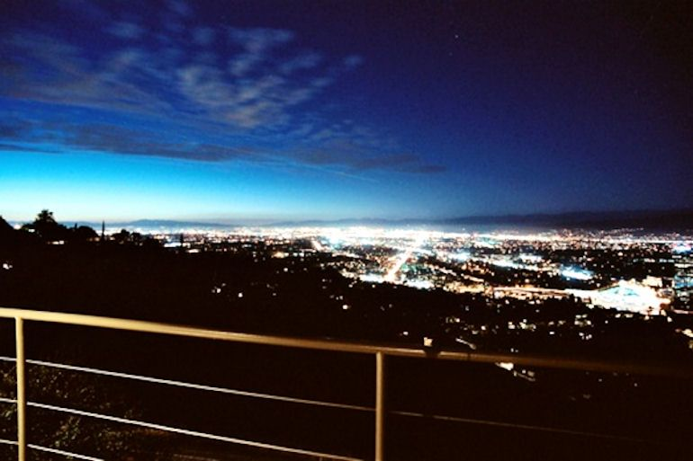 Lights of Los Angeles from the Hollywood Hills...