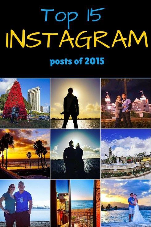 Top 15 instagram posts 2015 Fit Two Travel