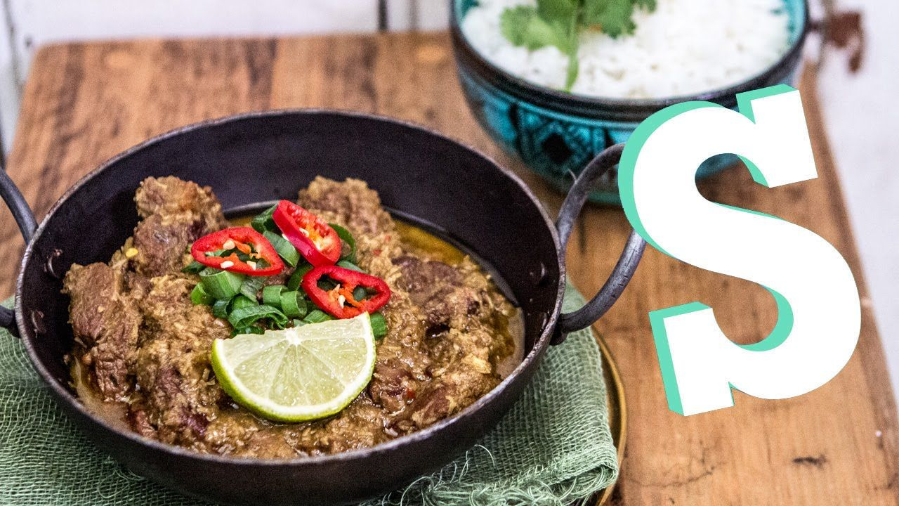 Indonesian Beef Rendang Recipe Sortedfood I Would Do It With A