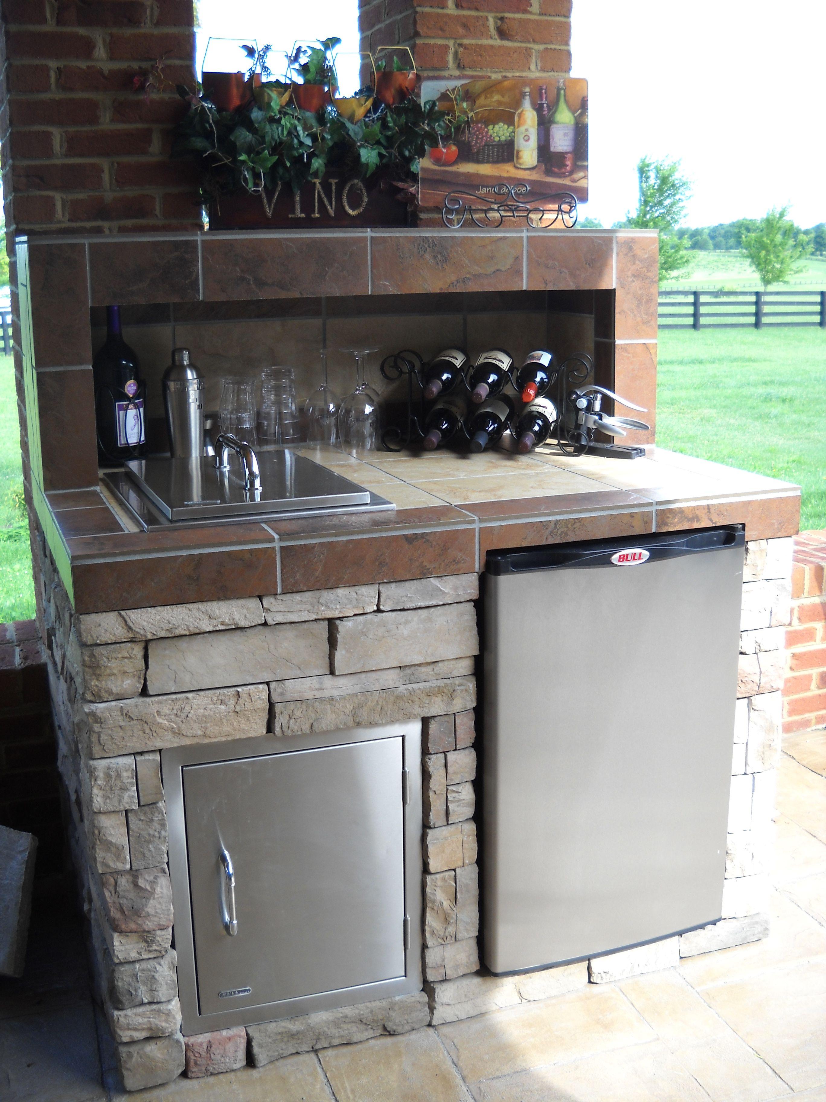 Pinleisure Depot On Outdoor Kitchens & Rooms  Pinterest Classy Outdoor Kitchen Home Depot Design Inspiration