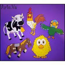 Resultado de imagen para animales de la granja de zenon for Decoracion habitacion bebe goma eva