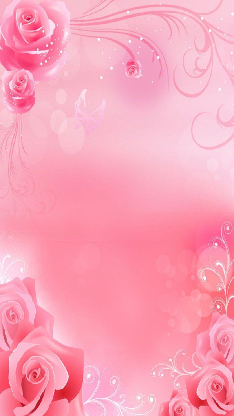 Самодельные, фон для свадебной открытки розовый