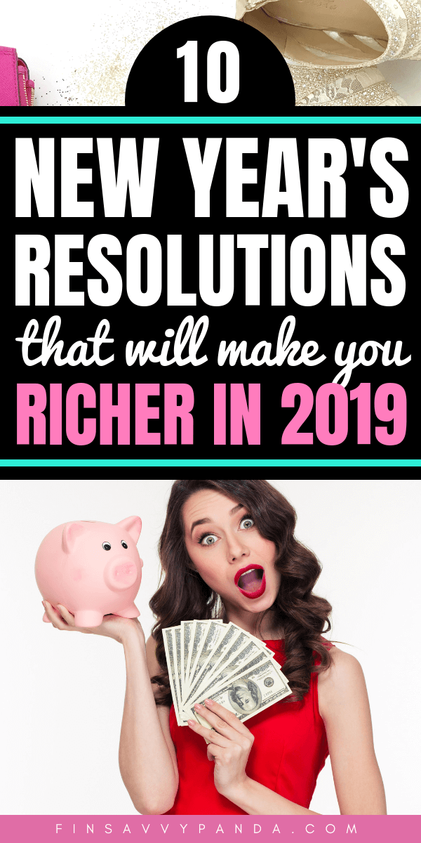 10 New Year39s resolutions you need to try this year conquer your finances today  Pand 10 New Years resolutions you need to try this year conquer your finances today  Pan...