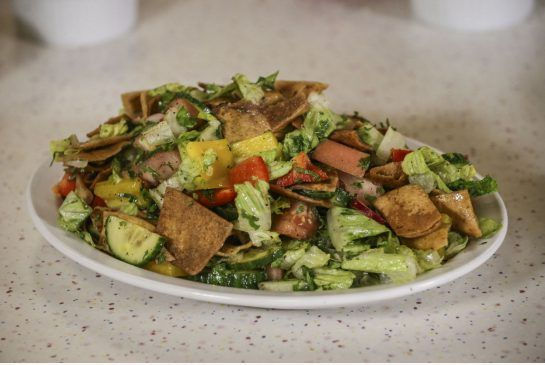Paramount Fine Foods Shares Its Recipe For Fattoush A Lettuce And Vegetable Salad With Tart