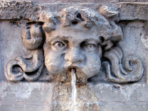 - fountain sculptures smiles italian ancient fountains ...