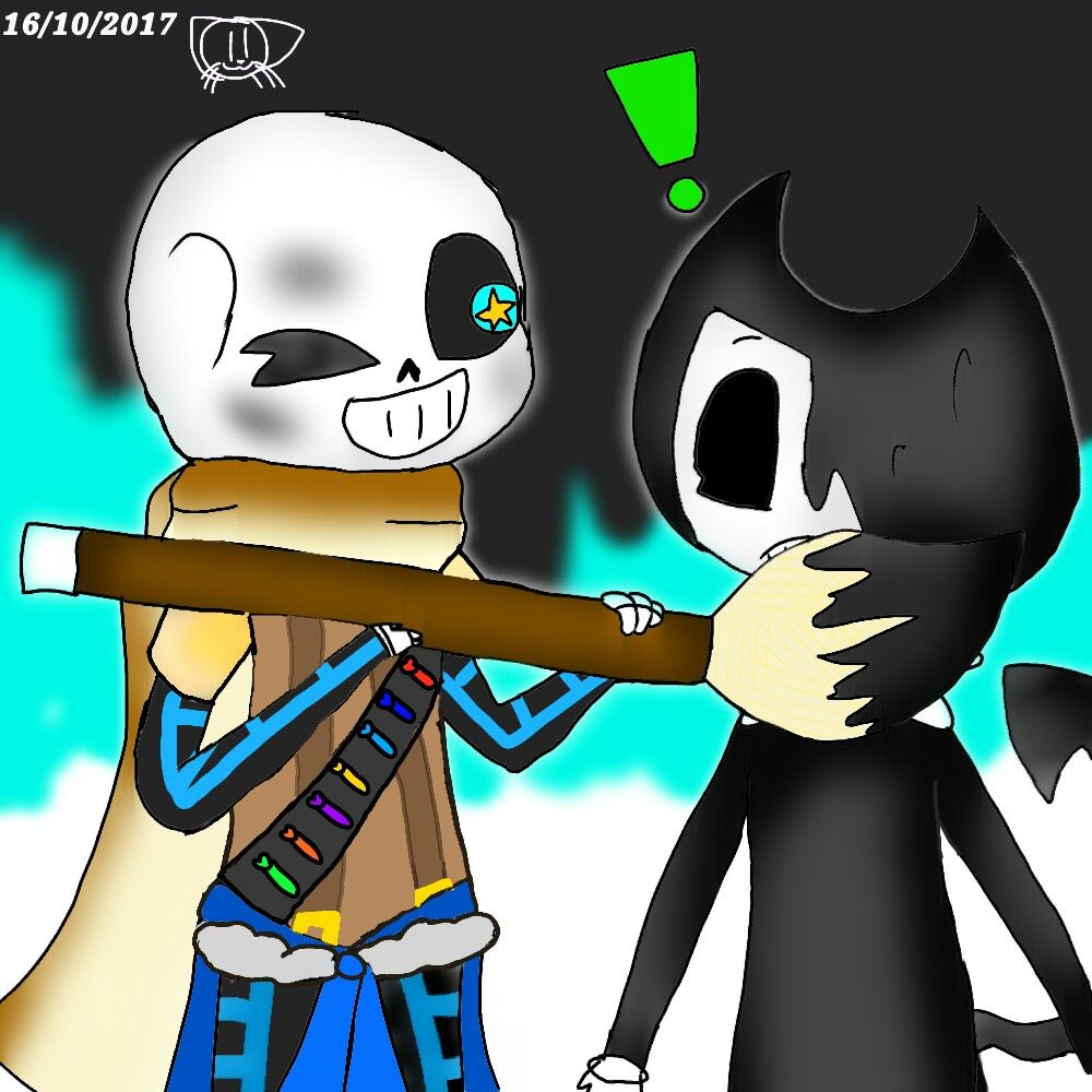 Ink Sans And Bendy ☆w☆