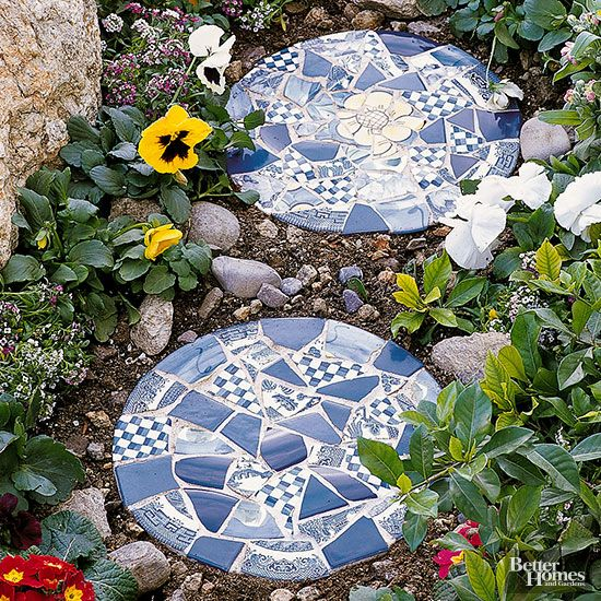 Making A Wonderful Garden Path Ideas Using Stones: Easy Garden Accents To Make Yourself
