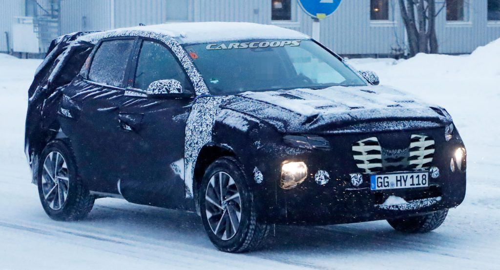 Redesigned 2021 Hyundai Tucson Getting Closer To Production Even