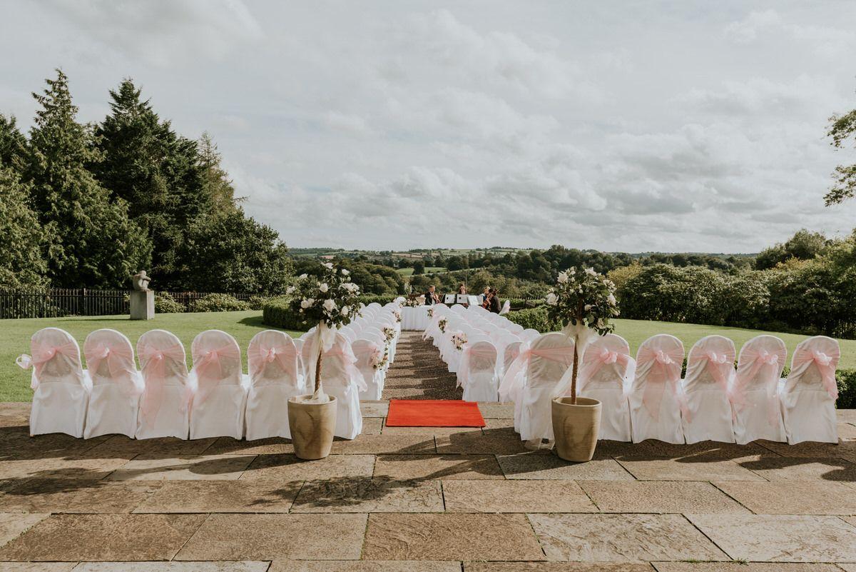 Outdoor Wedding Ceremony Northern Ireland