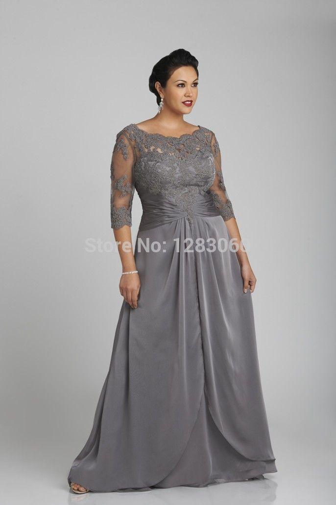 ff25b2eb22fe vestidos de mae de noiva plus size - Pesquisa Google | Meg's Wedding ...