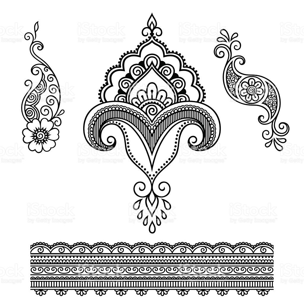 henna tattoo flower template mehndi mehndi indisch. Black Bedroom Furniture Sets. Home Design Ideas