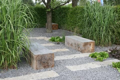 Gartengestaltung mit kies und splitt garden ideas and projects - Gartengestaltung mit splitt ...