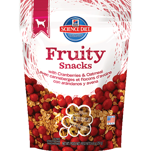 Hill S Science Diet Fruity Snacks With Cranberries Oatmeal Fruity Snacks Hills Science Diet Fruity