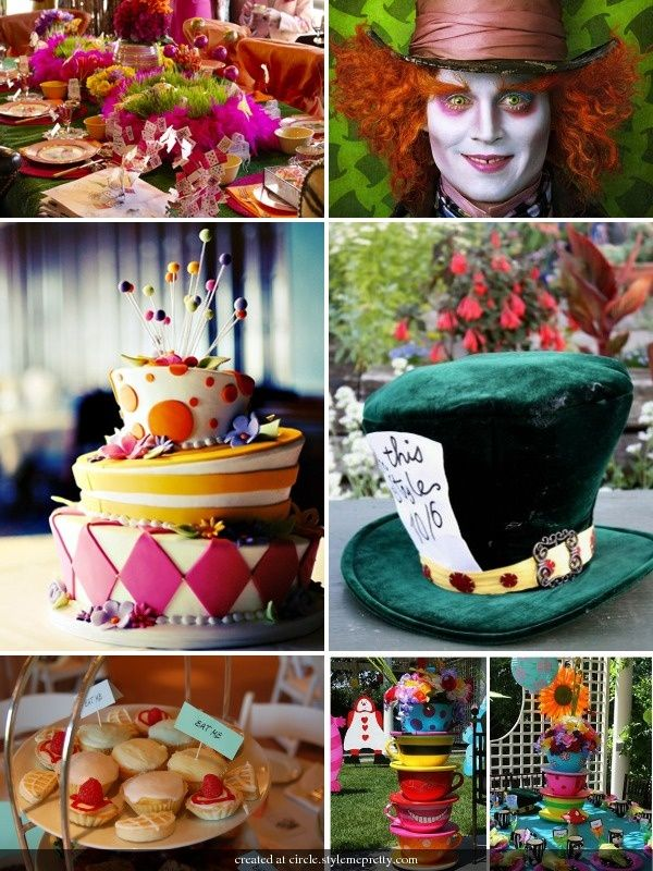 Mad Hatter Tea Party Table Decorating Ideas Google Search
