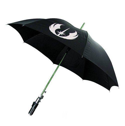 Star Wars Regenschirm mit Lichtschwert Griff: Yoda Star Wars http://www.amazon.de/dp/B001317TCM/ref=cm_sw_r_pi_dp_G8jEub12PJ58X