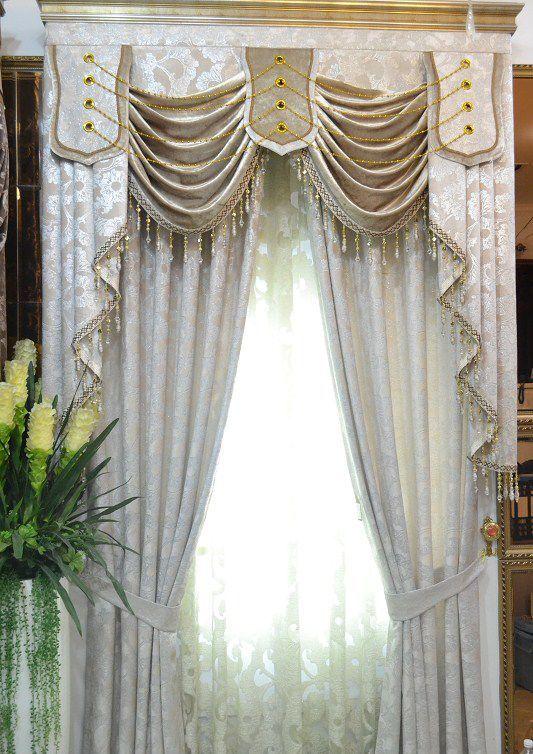Luxury Curtains Cortinas Para Salas Modernas Decoraciones Del Altar De La Iglesia Estilos De Cortina