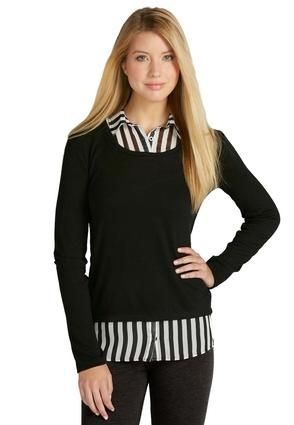a359bfd0e37c4 Cato Fashions Layered Look High-Low Sweater - Plus  CatoFashions ...
