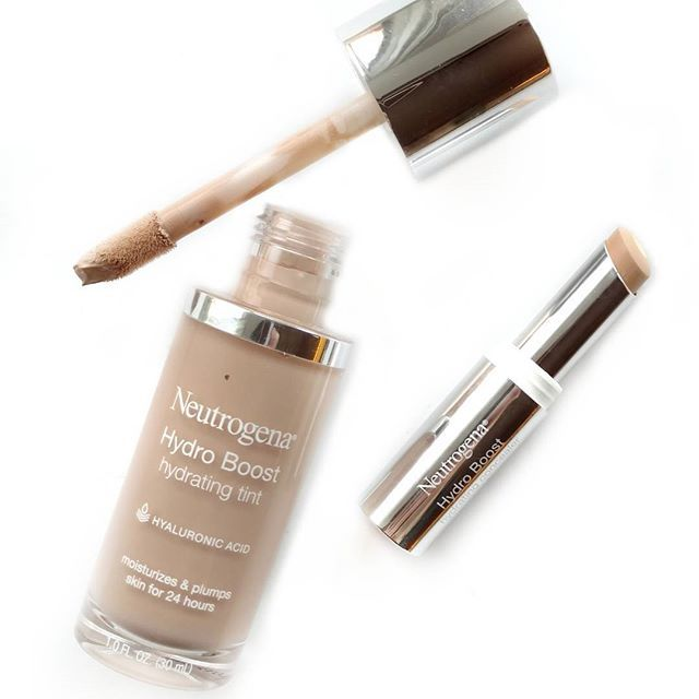 Im Obsessing Over The New Neutrogena Hydro Boost Hydrating Tint