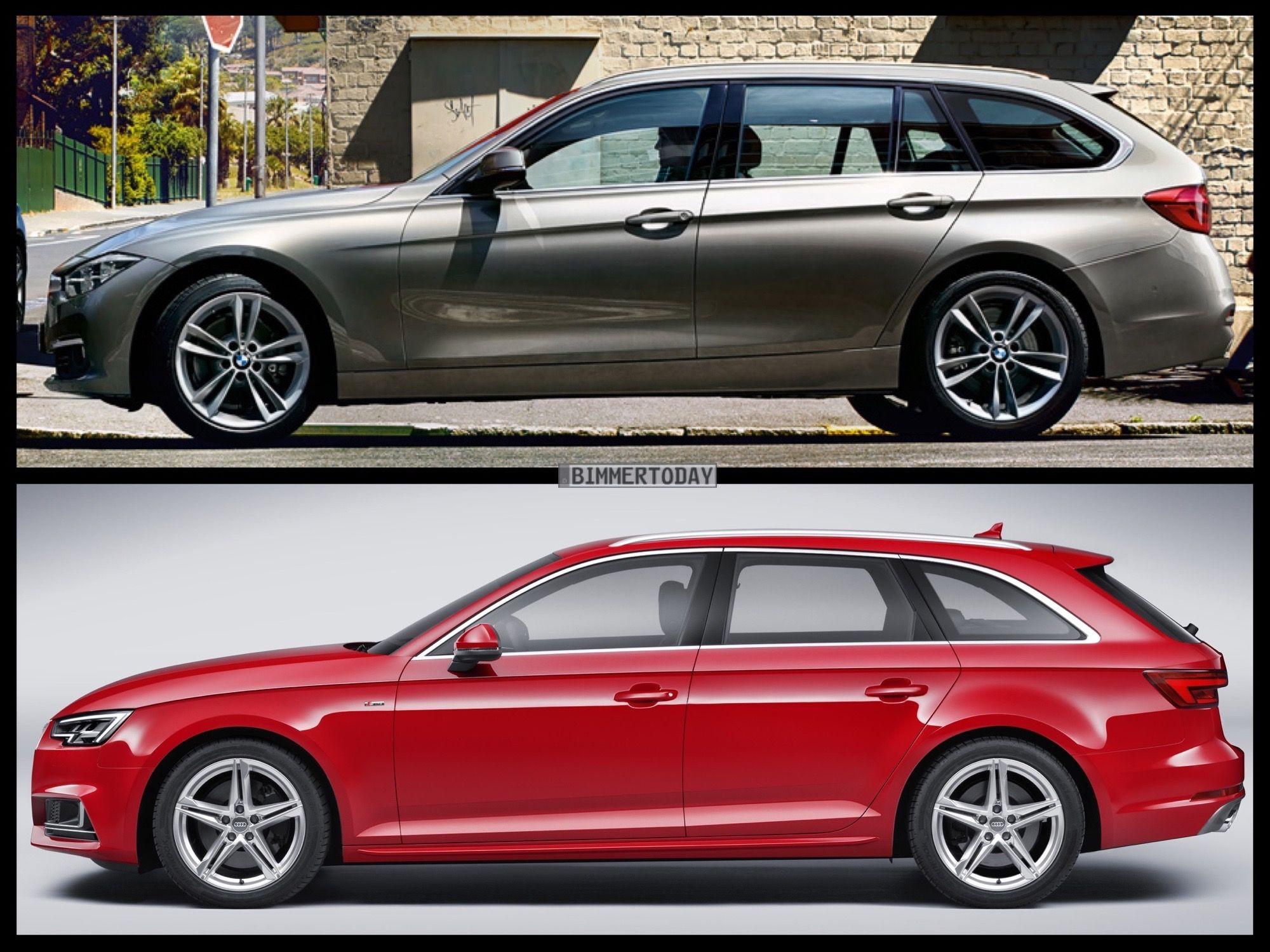 BMW 3 Series Touring vs Audi A4 Avant vs Mercedes-Benz C-Class Estate - http://www.bmwblog.com/2017/05/02/bmw-3-series-touring-vs-audi-a4-avant-vs-mercedes-benz-c-class-estate/