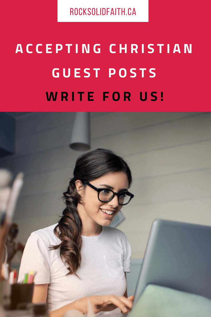 Write For | Blogging for Jesus | Christian women blogs, Blog