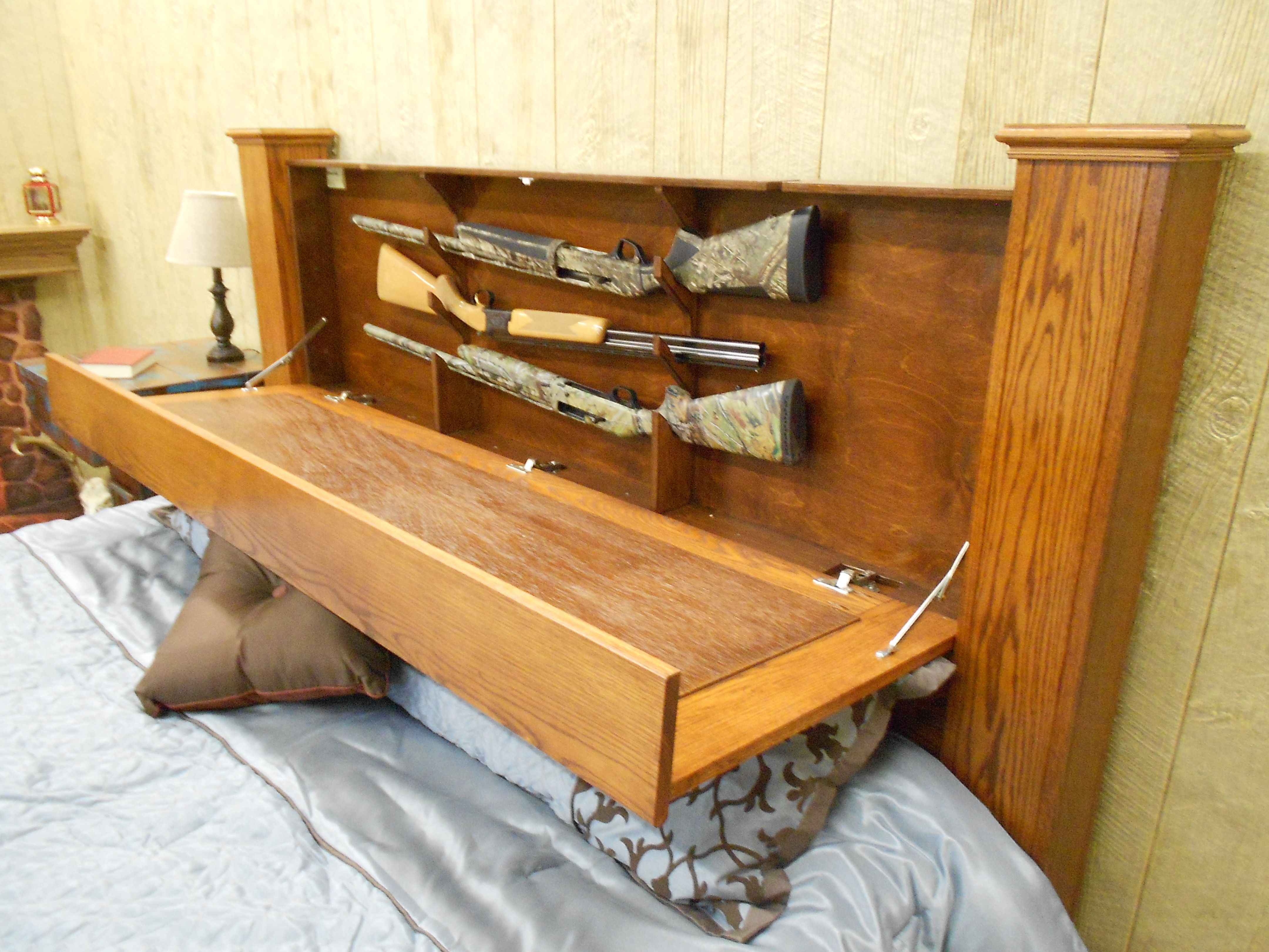 Concealed Storage King Size Bed By LCSI Concealed Storage