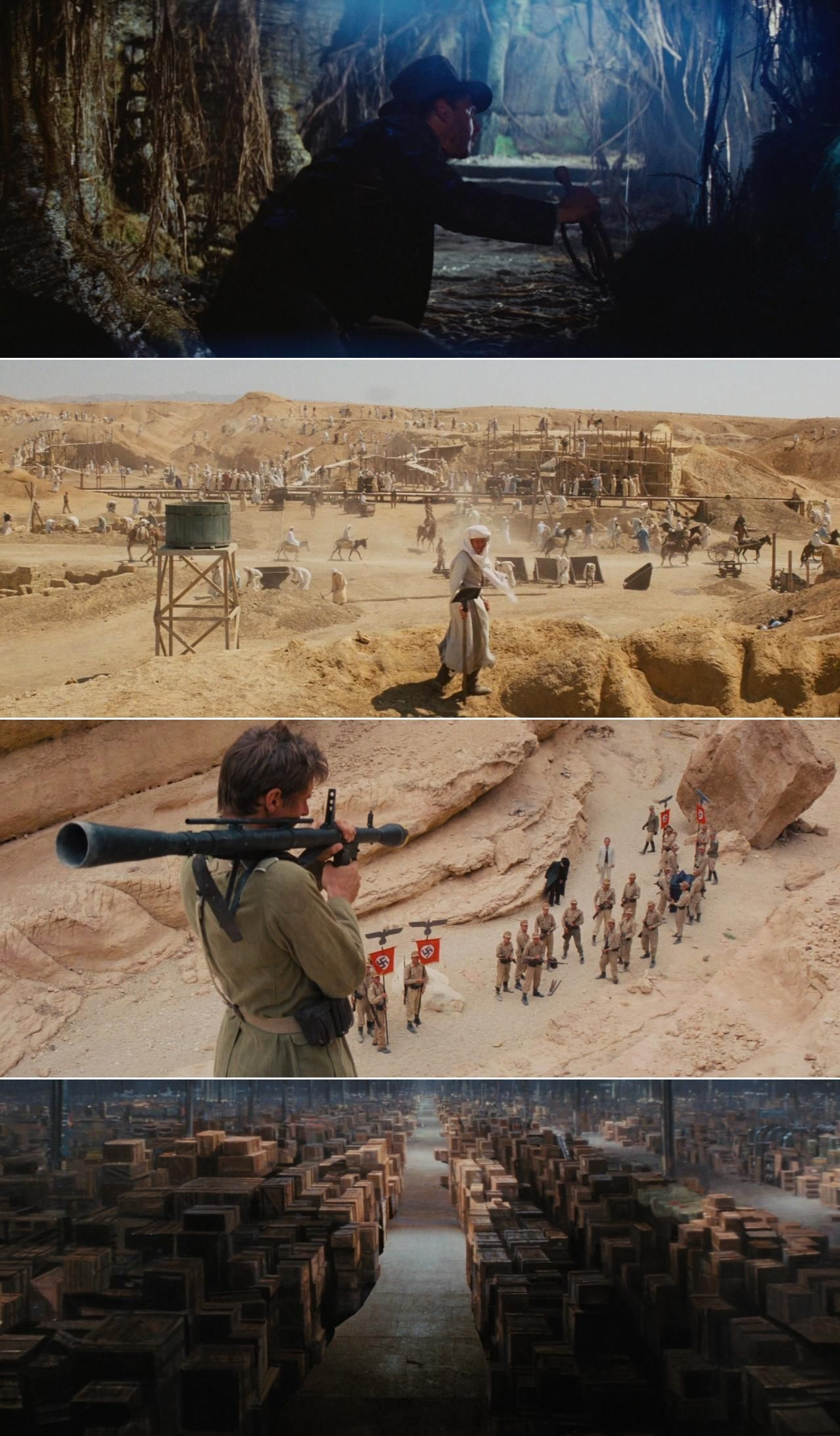 Raiders Of The Lost Ark 1981 Cinematography By Douglas Slocombe Directed By Steven Spielberg Film Stills Cinematography Movie Shots