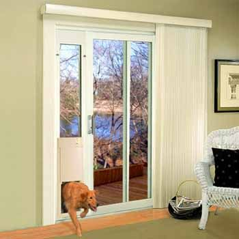 High Tech Pet Large Power Pet Patio Panel Pet Door Short Height