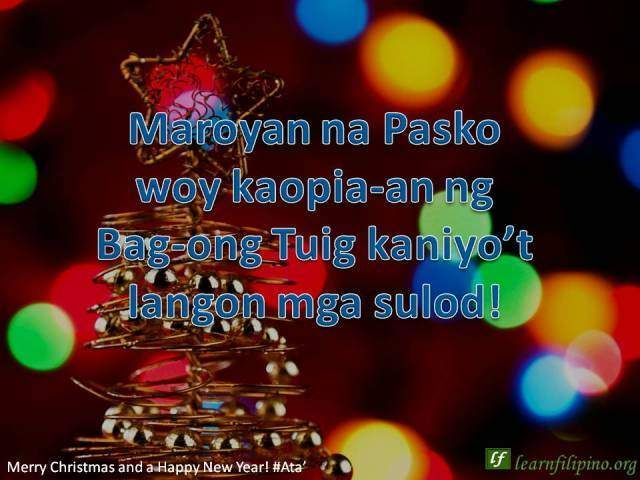 Merry Christmas In Tagalog.Pin By Learn Filipino On Shareable Filipino Translations Of