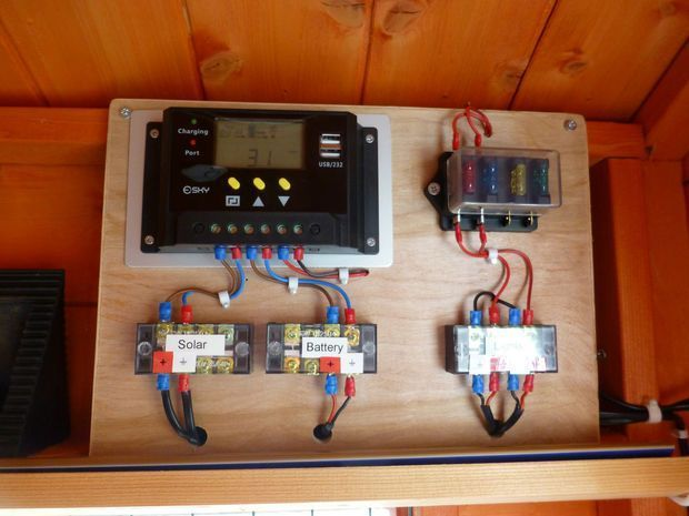 Picture Of Shed 12v Solar Lighting System Instructable