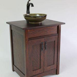 Craftsman Mission Style Bathroom Vanities Httpecocitiesinfo - Craftsman style bathroom vanity