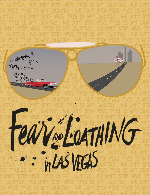 Fear and Loathing in Las Vegas by beware1984   Society6